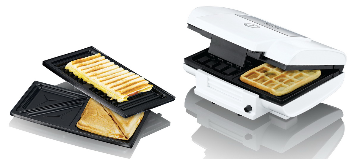 3in1 waffeleisen waffelautomat grill kontaktgrill sandwichtoaster sandwich maker ebay. Black Bedroom Furniture Sets. Home Design Ideas