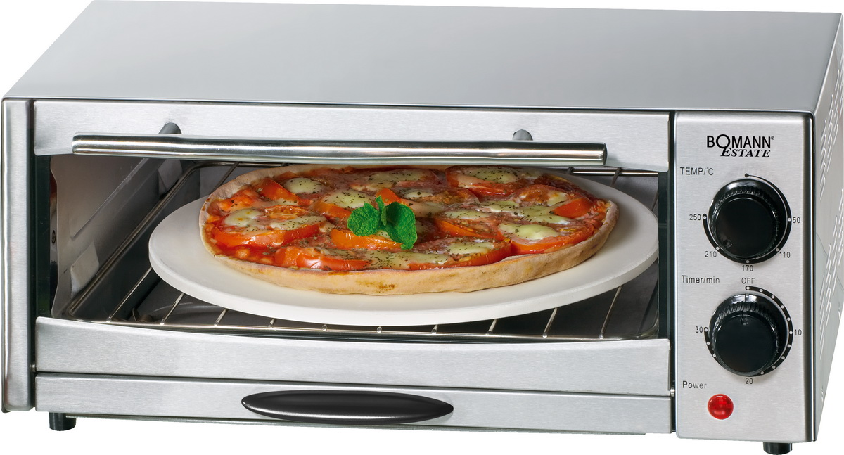 bomann pizza ofen mini backofen pizzaofen po 1239 cb ebay. Black Bedroom Furniture Sets. Home Design Ideas