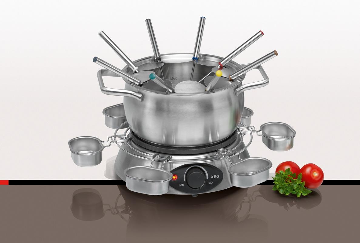 aeg fondue set elektrisches fondueset elektrofondue fd 5574 f r 8 p elektrisch ebay. Black Bedroom Furniture Sets. Home Design Ideas