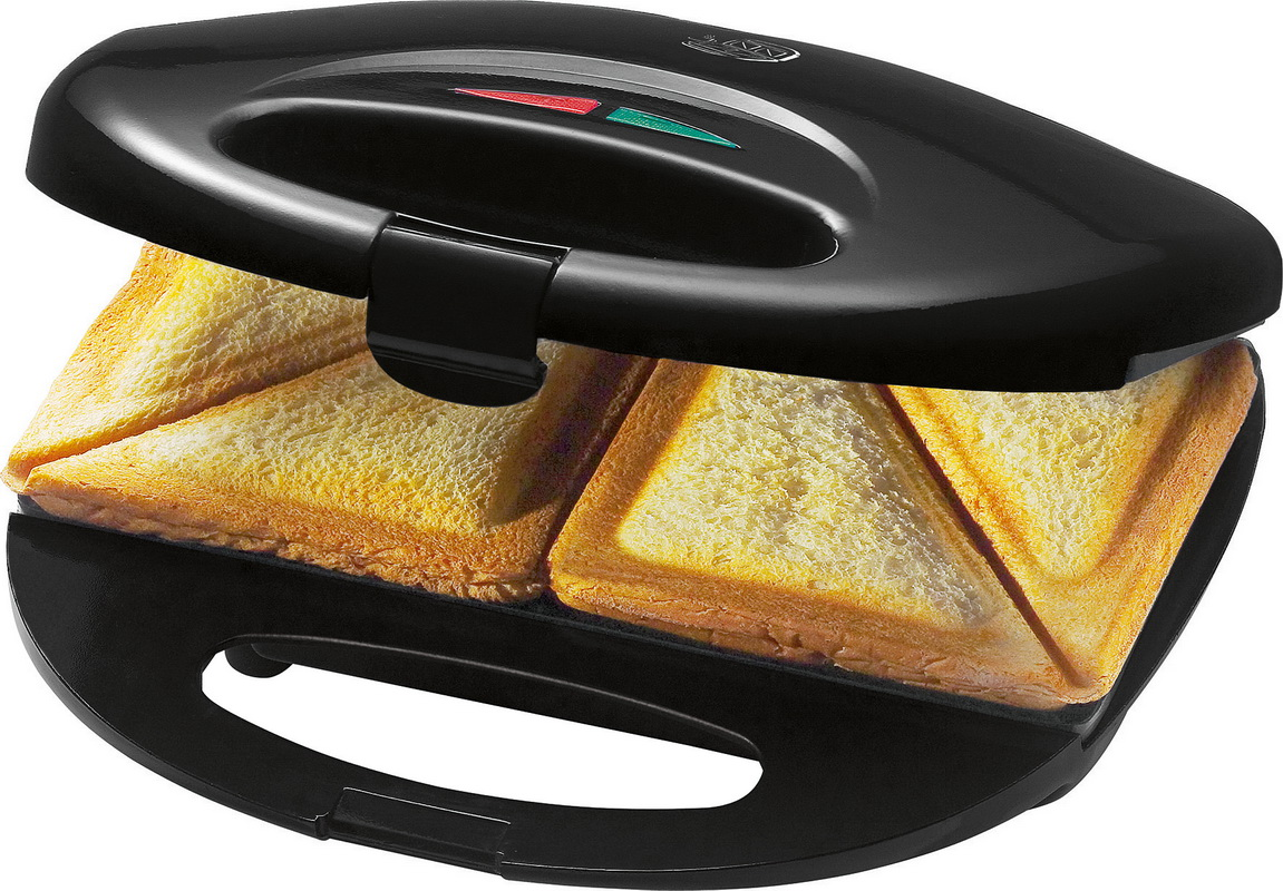 bomann luxus sandwich maker sandwichtoaster st 520 schwarz. Black Bedroom Furniture Sets. Home Design Ideas