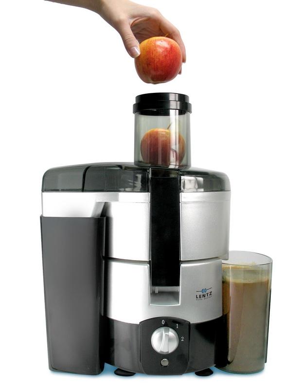 Luxus PowerEntsafter Juice King 600 WSaftpresse  ~ Entsafter Lentz