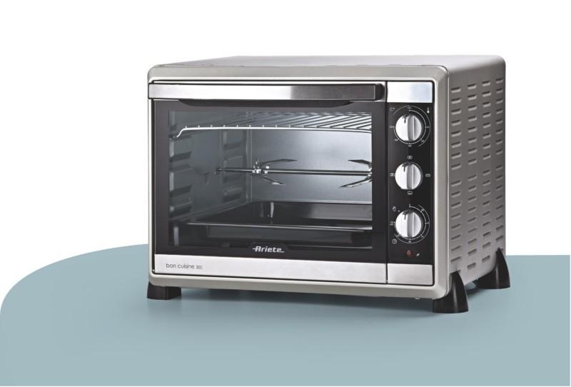ariete 30l bon cuisine 975 mini backofen pizzaofen ofen miniofen umluft hei luft ebay. Black Bedroom Furniture Sets. Home Design Ideas