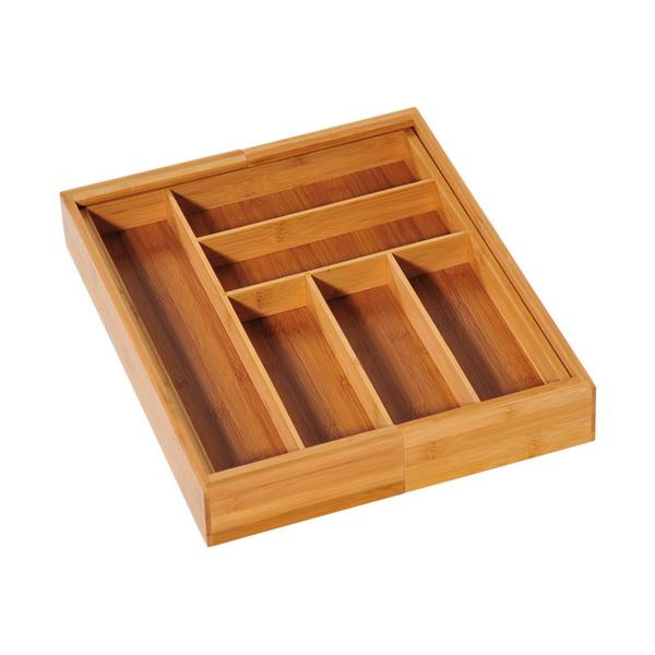 variabler besteckkasten 35 58cm schubladeneinsatz besteckeinsatz besteck einsatz ebay. Black Bedroom Furniture Sets. Home Design Ideas