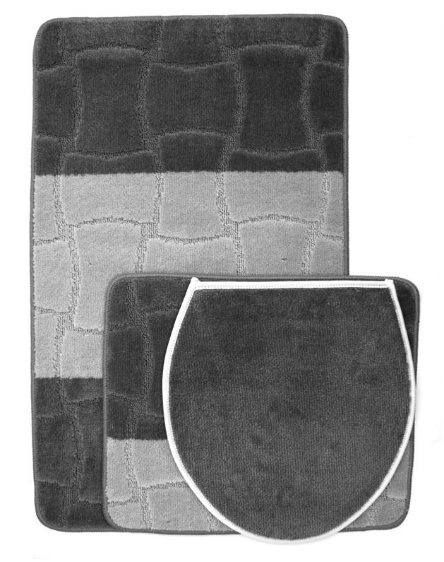 badezimmer set badvorleger badematte badteppich bad duschvorleger badgarnitur ebay. Black Bedroom Furniture Sets. Home Design Ideas