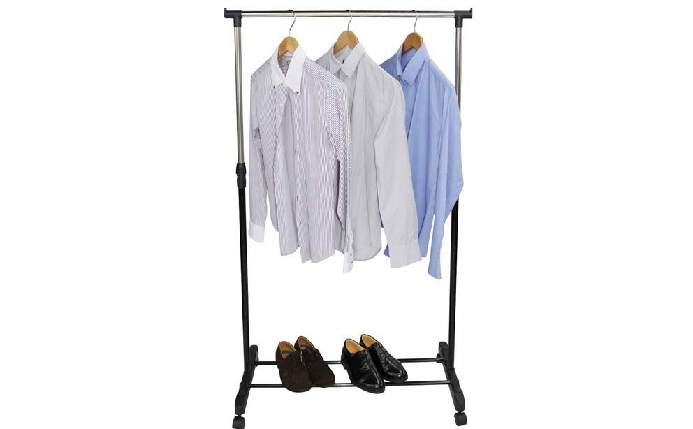 fahrbarer kleiderst nder fahrbare h ngegarderobe garderobe. Black Bedroom Furniture Sets. Home Design Ideas