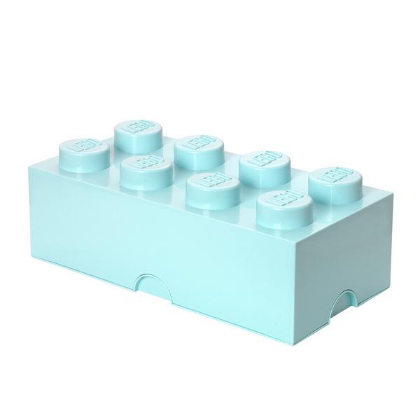 Lego system aufbewahrungsbox stabelbar legostein kasten for Caja almacenaje infantil