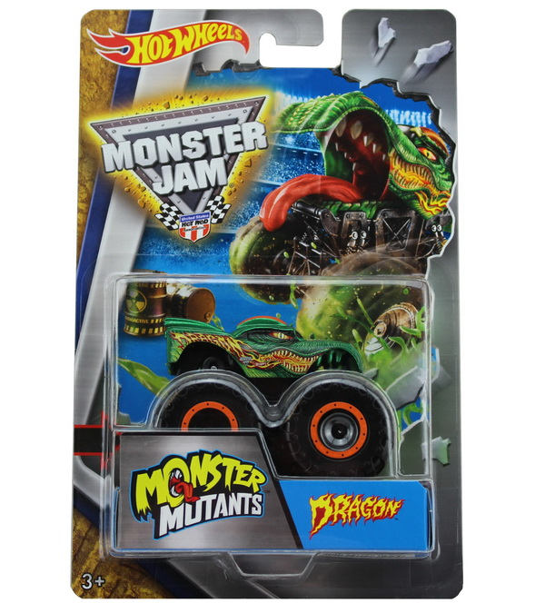Monster jam monstertruck truck grave digger dragon hot