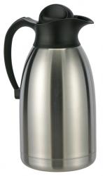 2 Liter Isolierkanne aus Edelstahl doppelwandig, Drehverschluß  26053