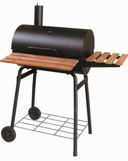 gro e grillstation r uchergrill r ucher grill holzkohlegrill grillwagen smoker ebay. Black Bedroom Furniture Sets. Home Design Ideas