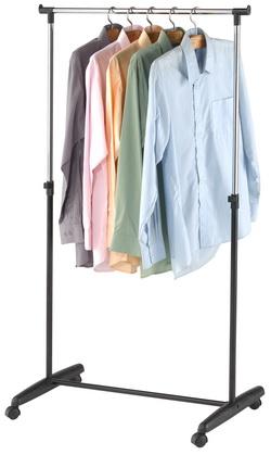 fahrbarer kleiderst nder fahrbare h ngegarderobe garderobe mobile kleiderstange ebay. Black Bedroom Furniture Sets. Home Design Ideas