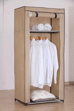 faltkleiderschrank campingschrank textil kleiderschrank garderoben faltschrank ebay. Black Bedroom Furniture Sets. Home Design Ideas