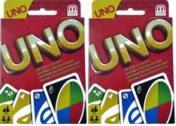 2 x Mattel UNO Kartenspiel W2087