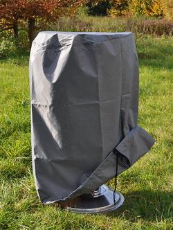 Grillabdeckplane Grillabdeckung rund, 50 x 80 cm 61057