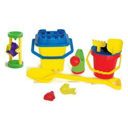 11-teiliges Sandspielzeug Sandkasten-Spielzeug 5047