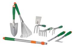 8-tlg. Gartenwerkzeug-Set 7 Teile + 1 Teleskopgriff 94402