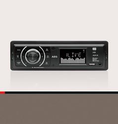 AEG UKW-Autoradio mit RDS, USB und Card-Reader AR 4027