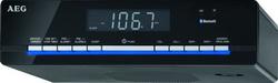 AEG Unterbau-Küchenradio Uhren-Radio mit Bluetooth KRC 4361 BT schwarz