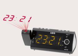 AEG Uhrenradio / Radiowecker mit Projektion MRC 4121 P