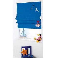 4UNIQ Kinder- Raffrollo Pirat blau 80x140 cm